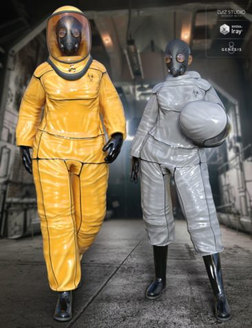 BioHazard Suit for Genesis 8 Female(s)