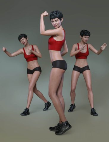 Confident Poses and Expressions for Eva 8 and Genesis 8 Female