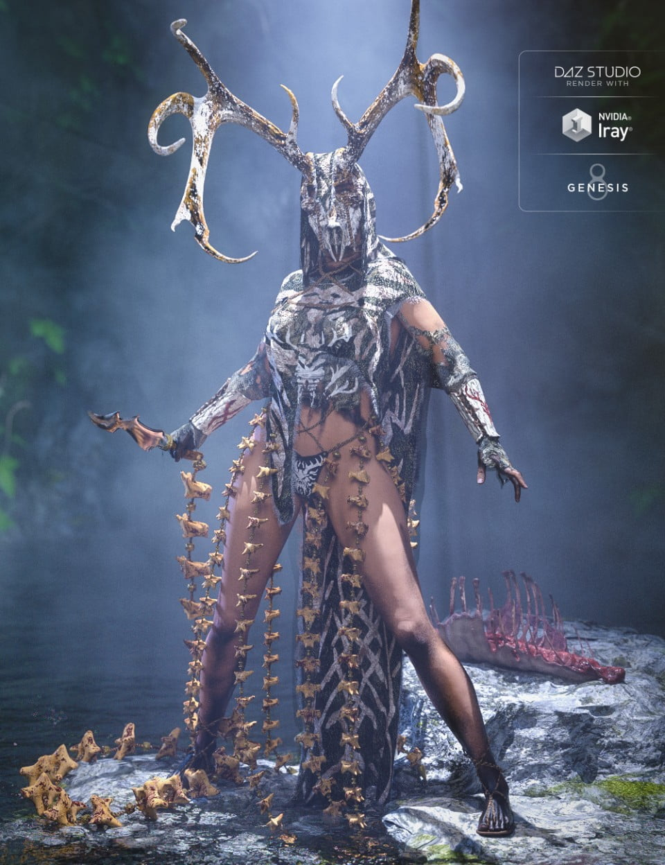 dforce Order of the Huntress: The Priestess
