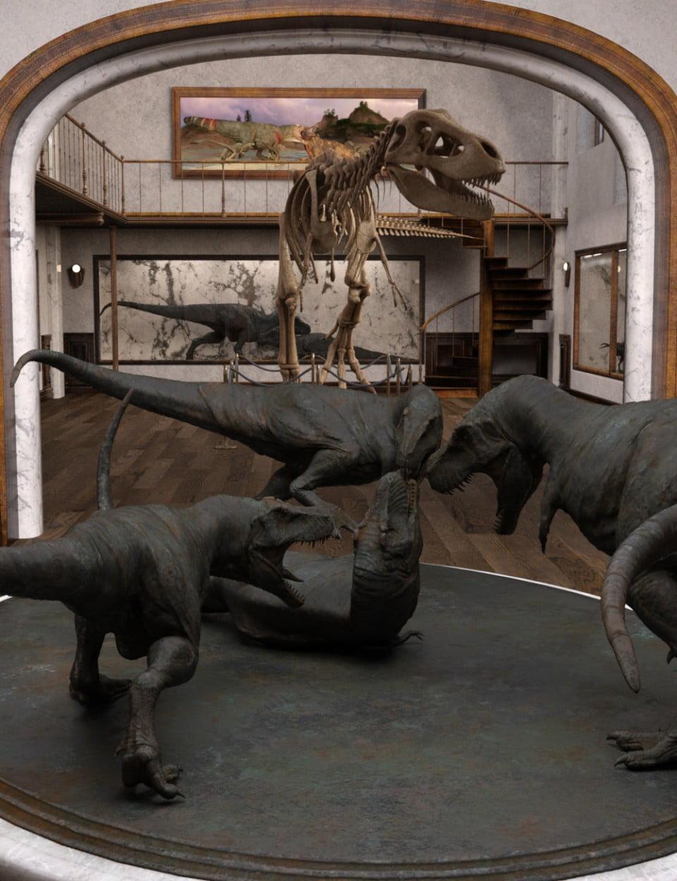 Dinosaur Exhibition Gallery