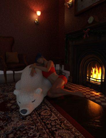 Polar Bear dForce Pillow