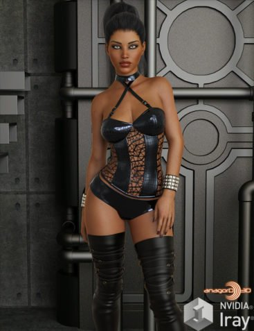 VERSUS - Behave Outfit for Genesis 8 Females