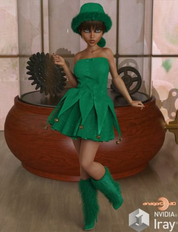 VERSUS - Santas Helpers Vol 1 for Genesis 8 Female