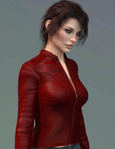 X-Fashion Slim Fit Jacket for Genesis 8 Female(s)