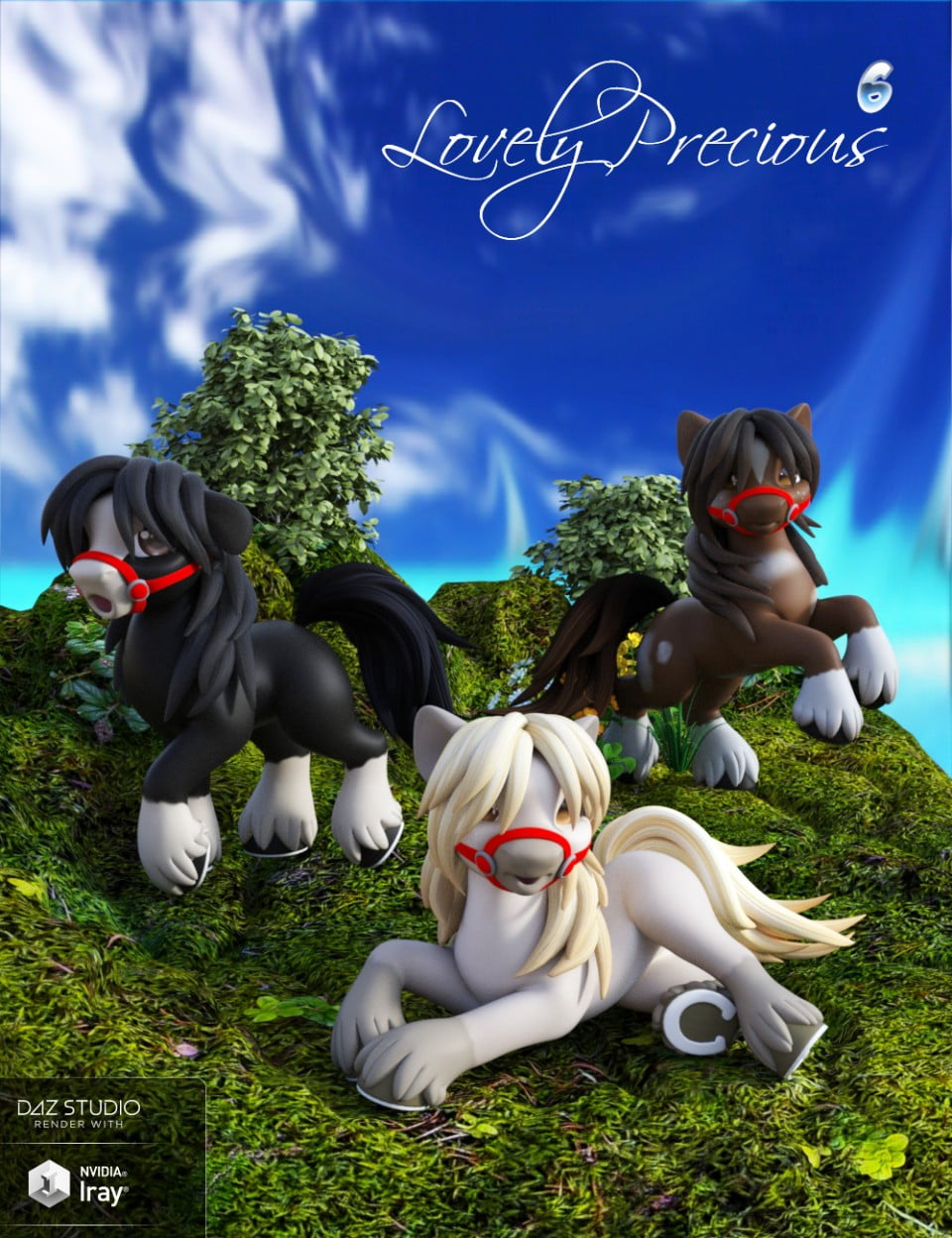 Lovely Precious Vol 06 - Clydesdale