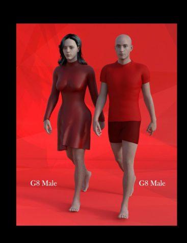 Female Body Morphs for Genesis 8 Male