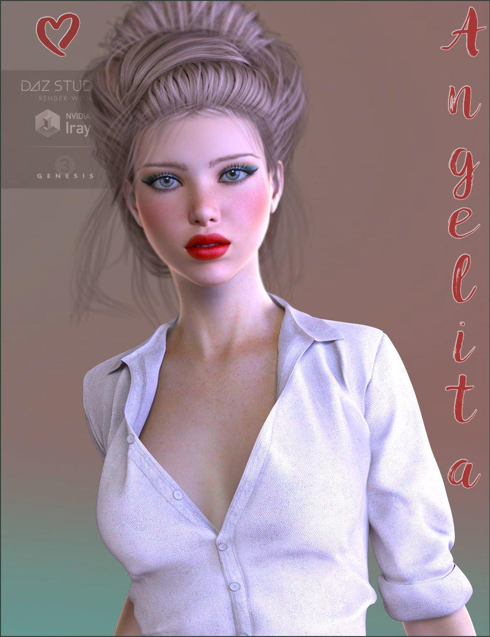 TDT-Angelita for Genesis 3 Female
