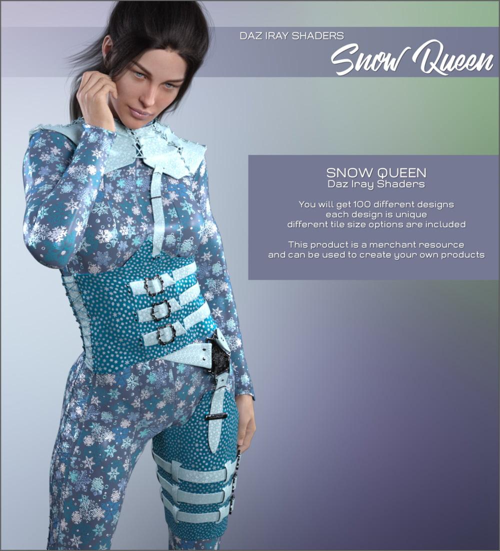 Daz Iray - Snow Queen