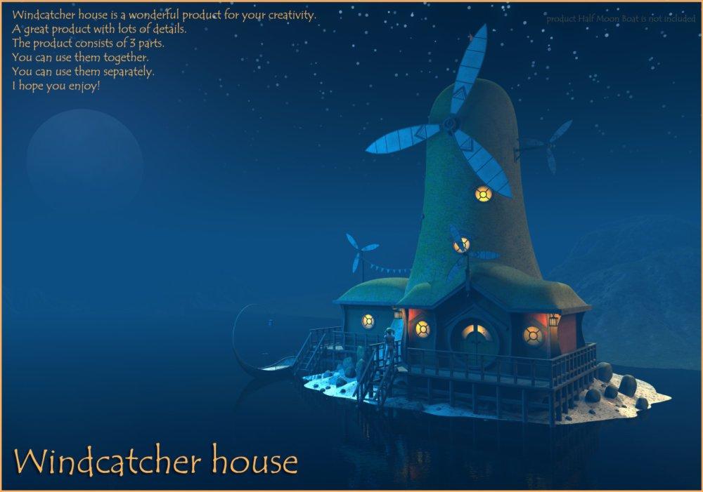 Windcatcher house