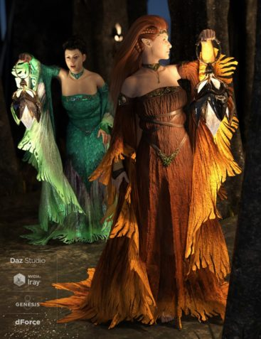 dForce The Sylph Outfit for Genesis 8 Female(s)