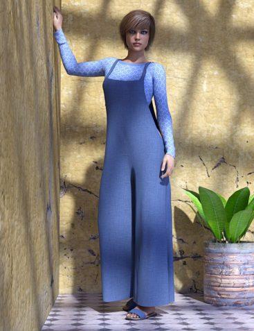 dForce Trendy Comfort Outfit for Genesis 8 Female(s)