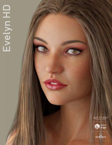 Evelyn & Lynn HD for Genesis 8 Female