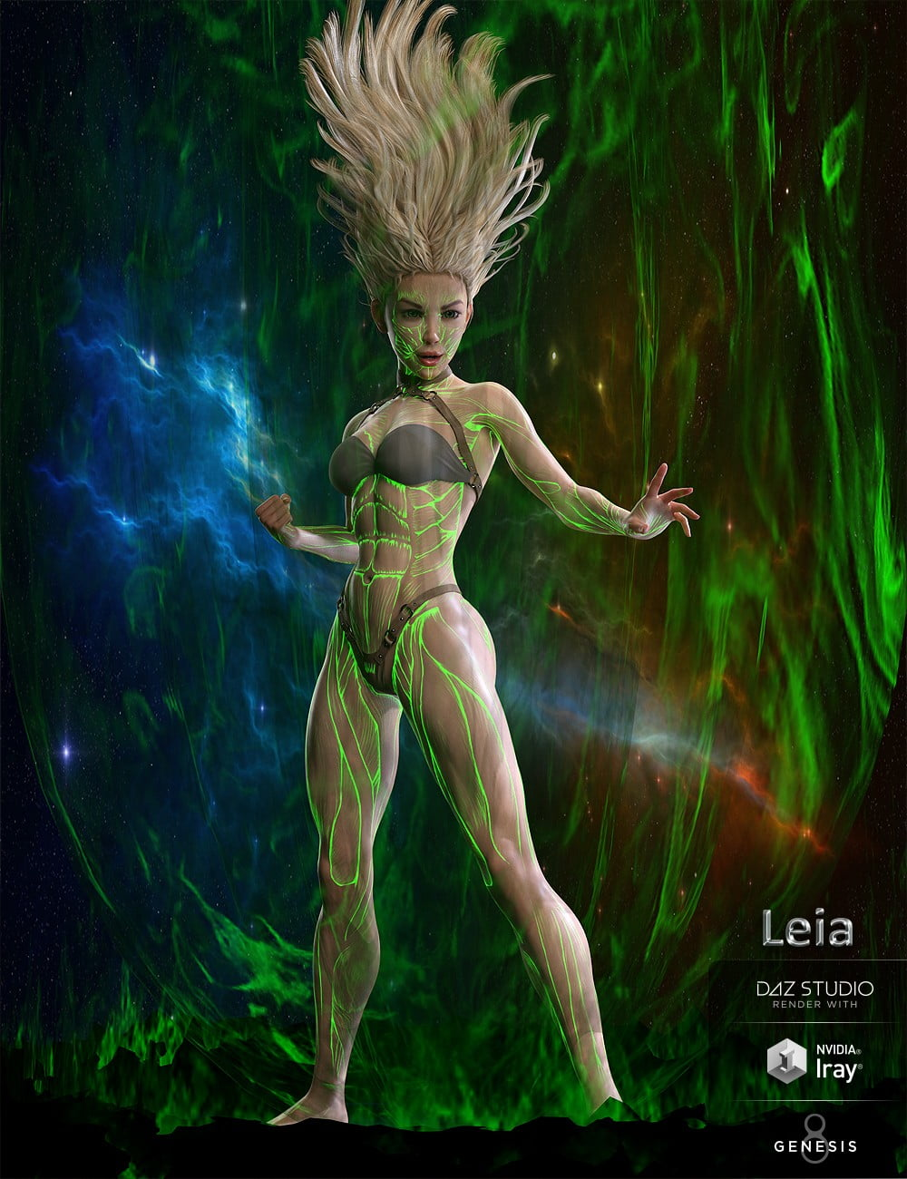 Leia for Genesis 8 Female