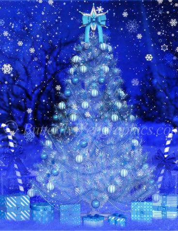 O Christmas Tree Background Graphics
