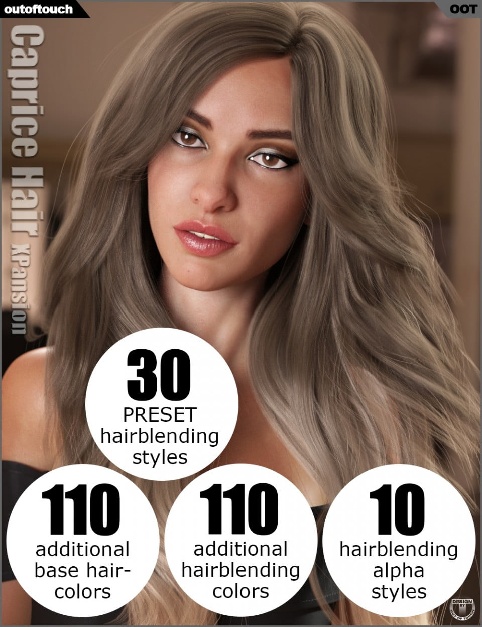 OOT Hairblending 2.0 Texture XPansion for Caprice Hair
