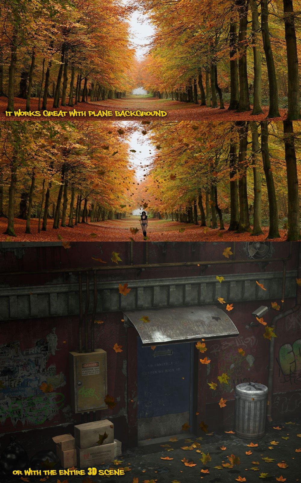 Falling Leaves_Dynamic Prop