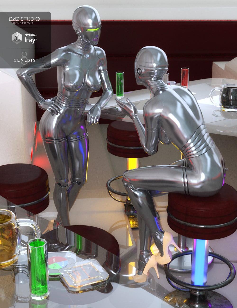 Sci-fi Mood Bar Props