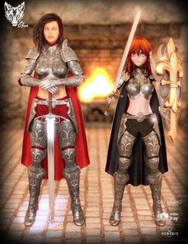 Orlean's Armor for Genesis 8 Female(s)