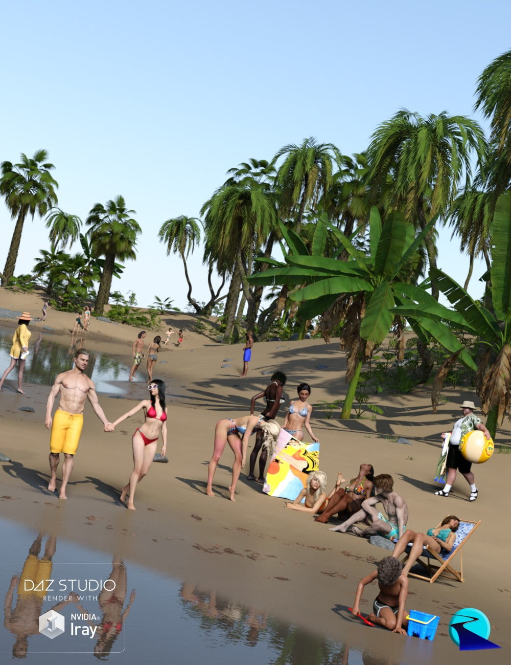 Now-Crowd Billboards - Beach Life