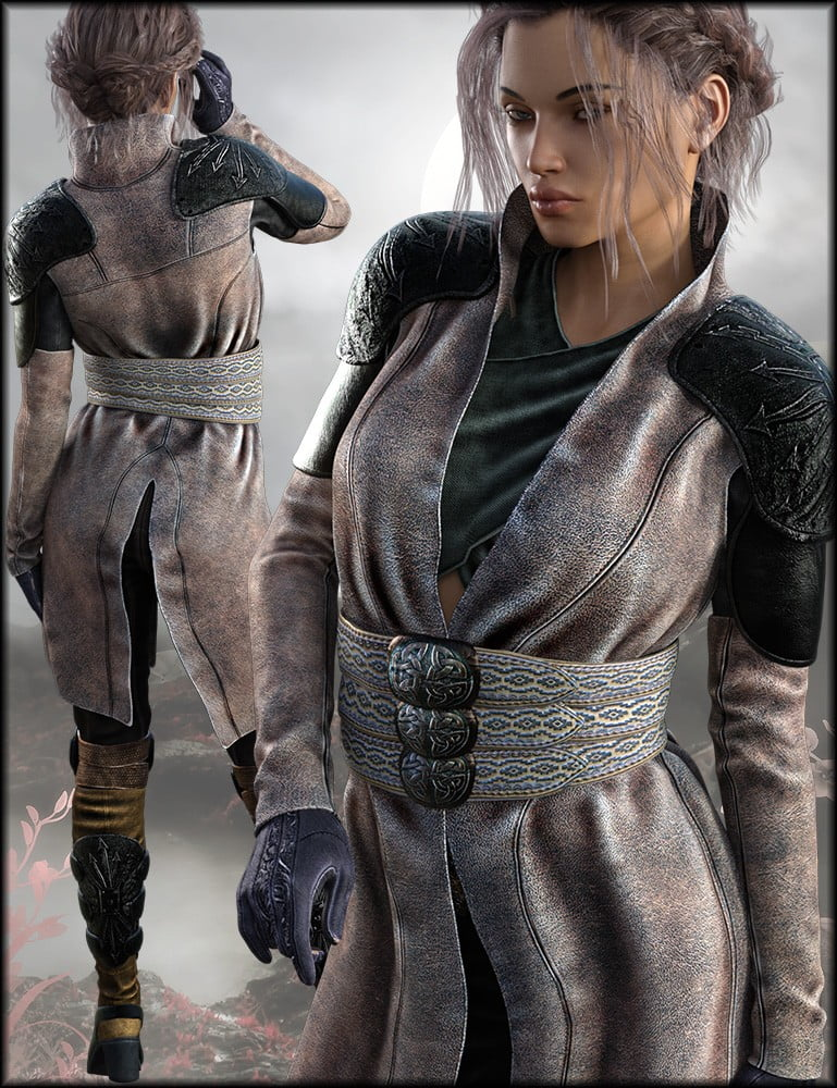 Ida Outfit Textures