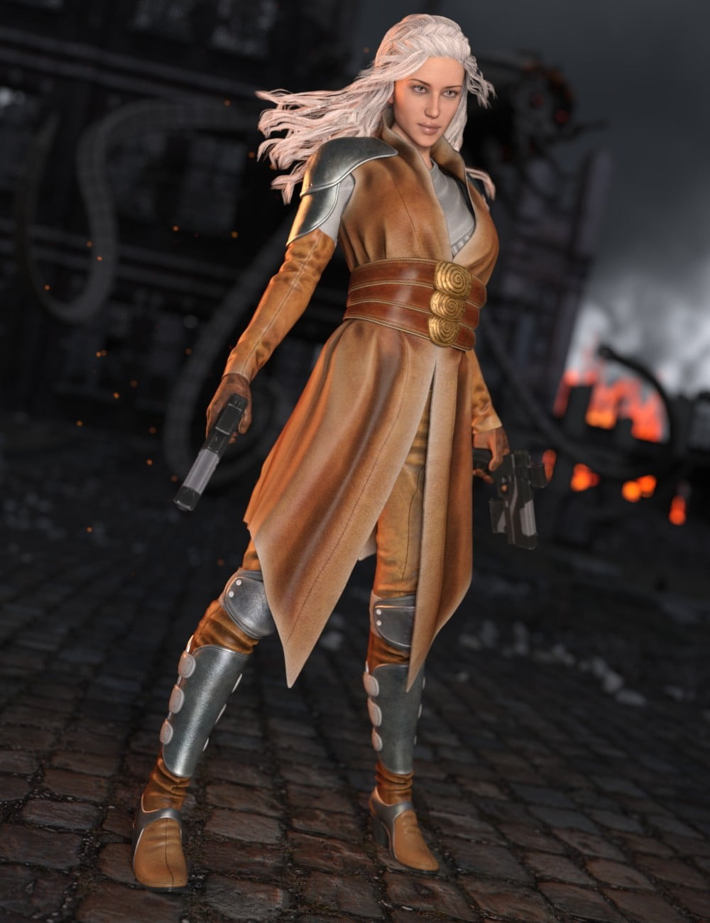 Ida Outfit for Genesis 3 Female(s)