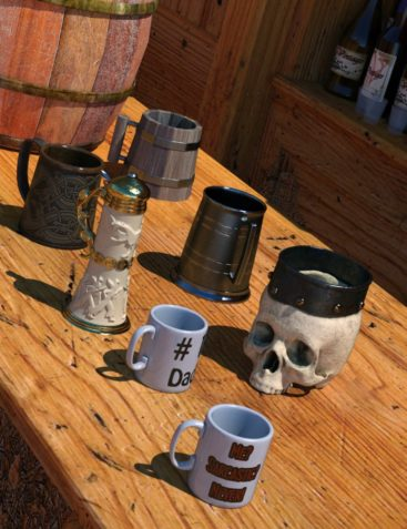 Mugs, Tankards, and Steins