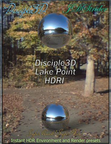 Disciple3D – Lake Point HDRI