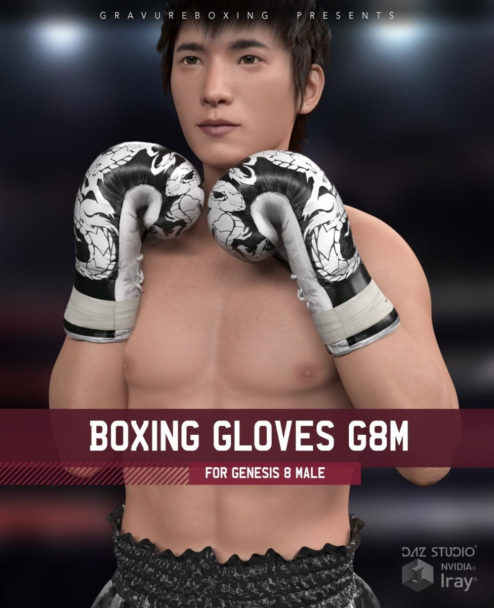 Boxing Gloves G8M for Genesis 8 Male