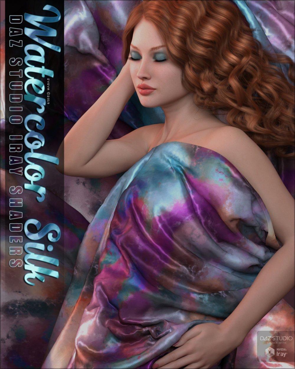 SVs Watercolor Silk Iray Shaders