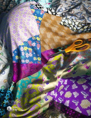 Paisley and Patterns Iray Shaders