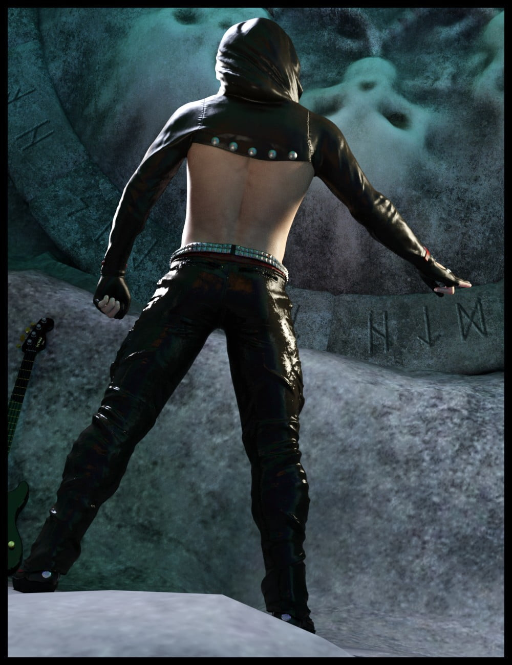 dForce GothicX Rock for Genesis 8 Male(s)