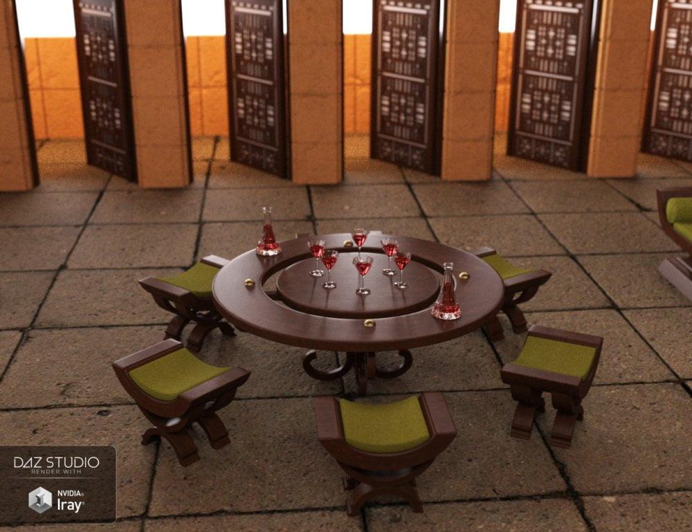 Fantasy Council Room