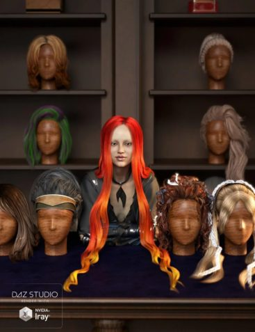 RSSY Hair Converter from Genesis 2 Female to Genesis 8 Female
