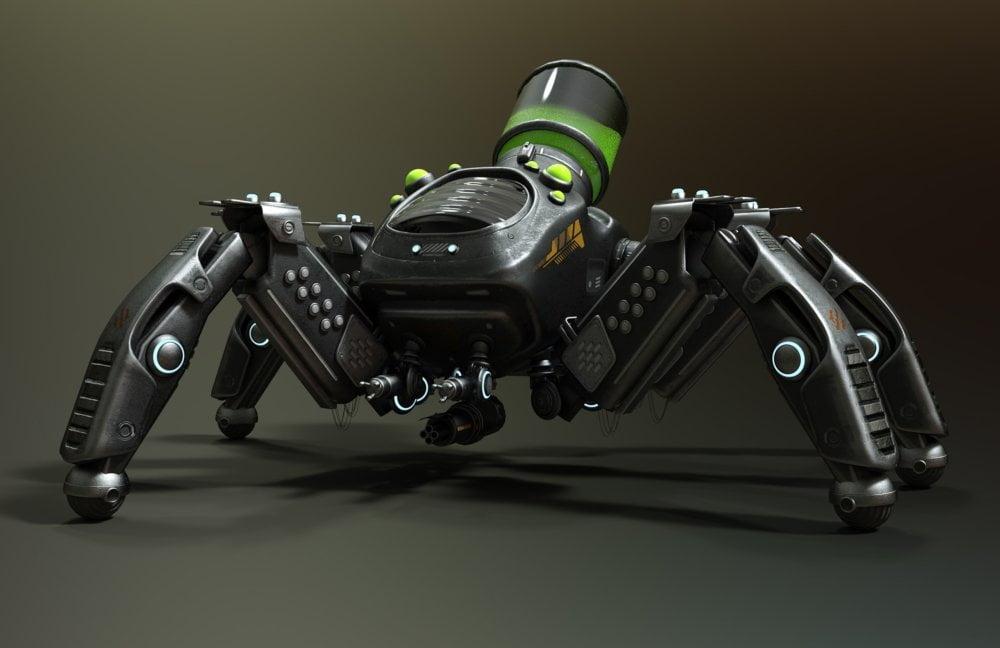Spider Bot Mech