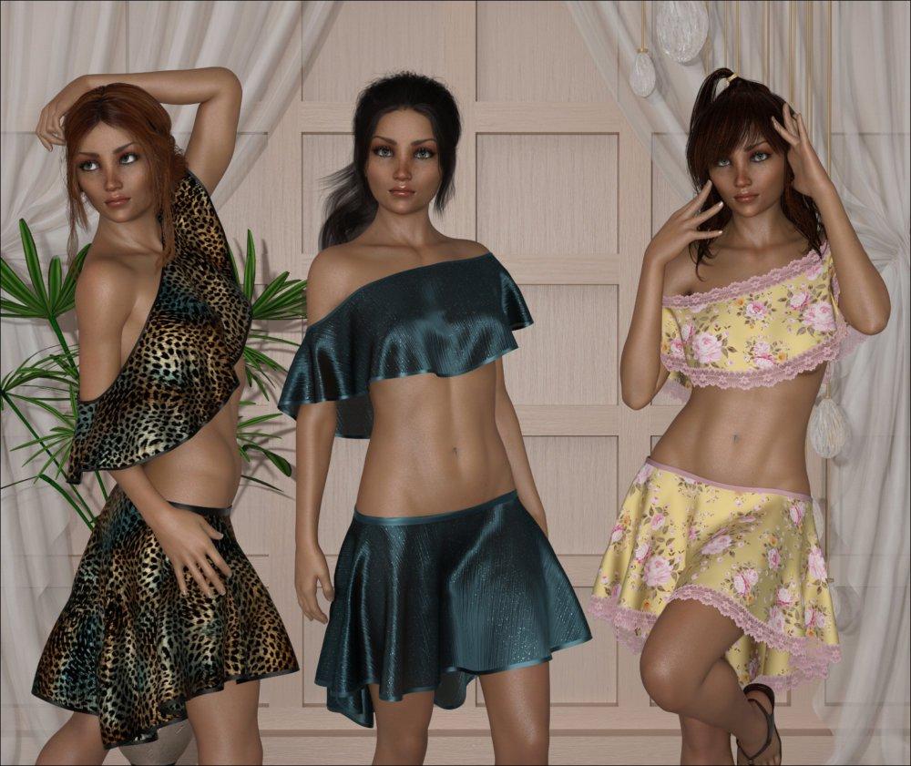 dForce - Celeste Outfit for G8F
