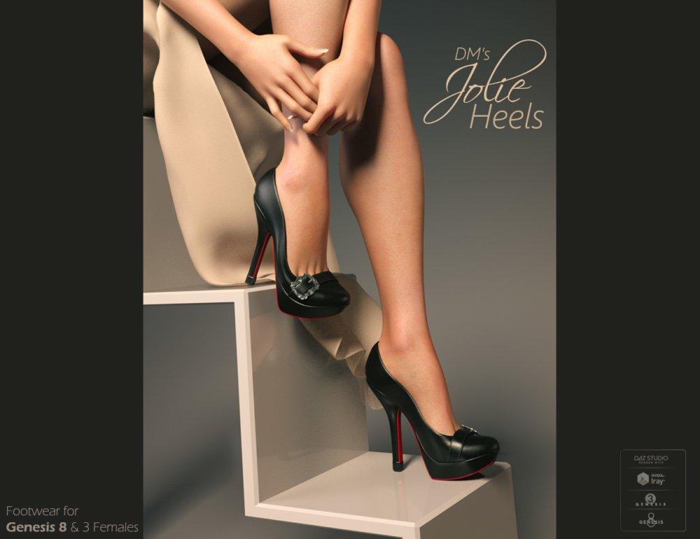 DMs Jolie Heels