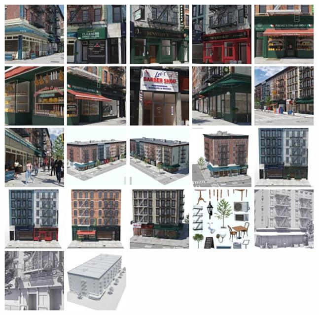 New York Stores