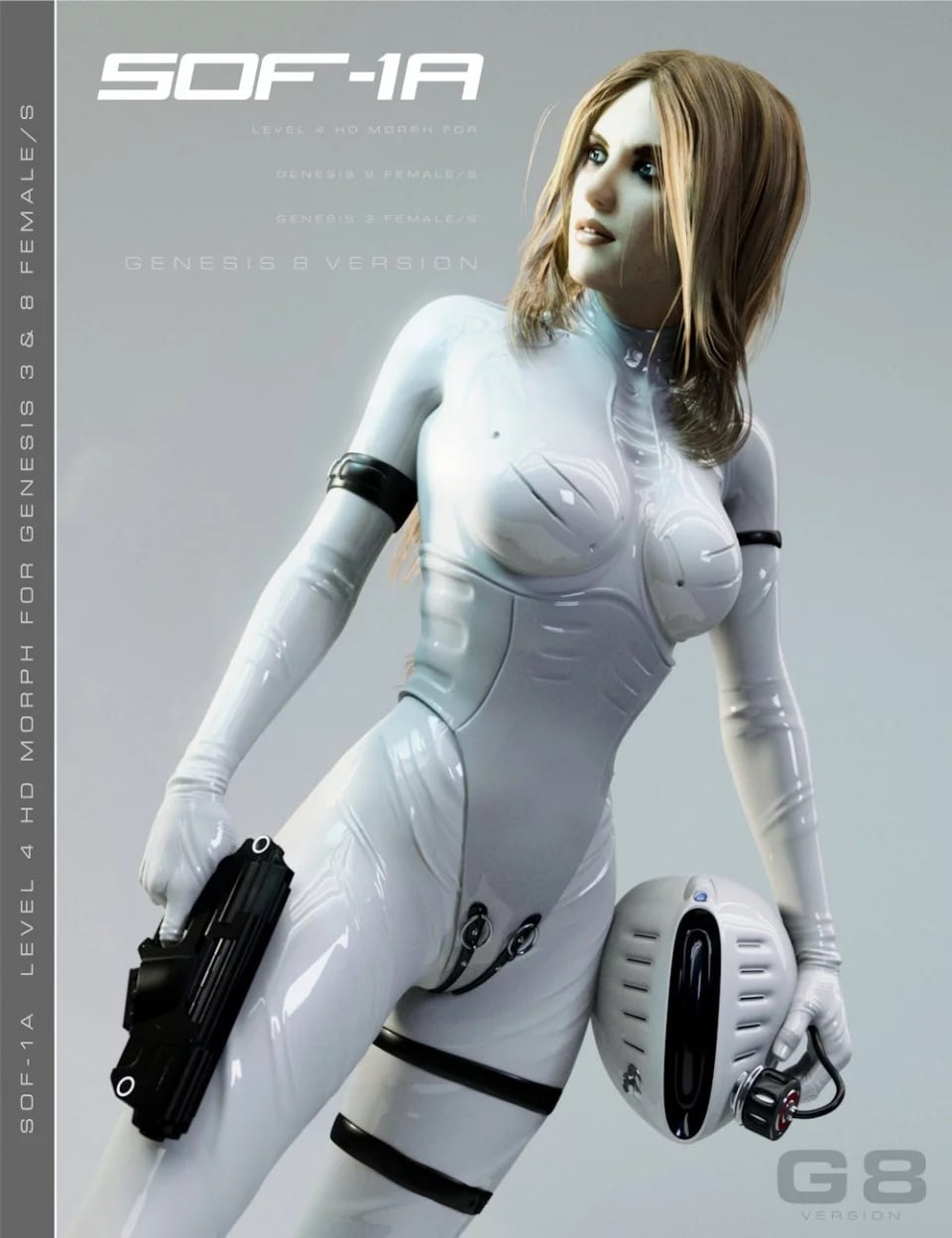 SOF-1A for Genesis 3 and 8 Female
