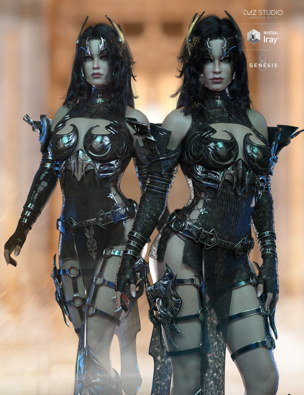 dForce Lilikh Outfit Textures
