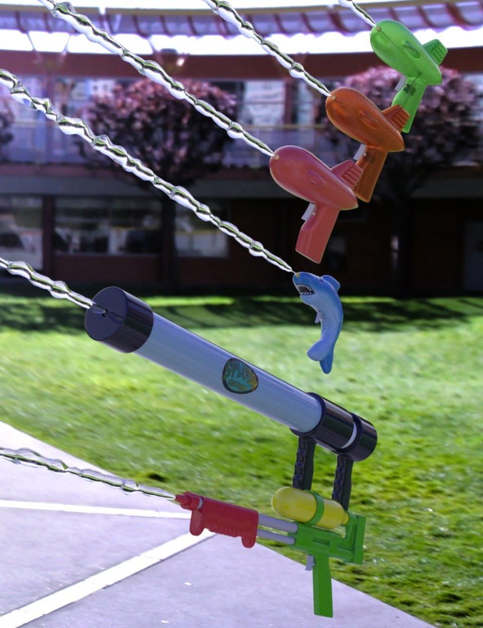 Summertime Water Guns