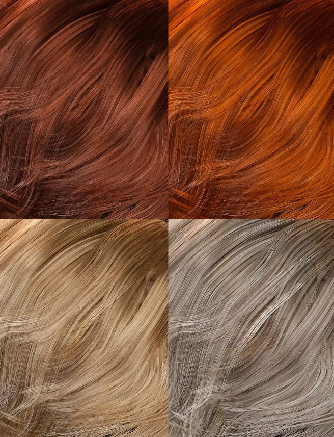 Colors for Greer Hair
