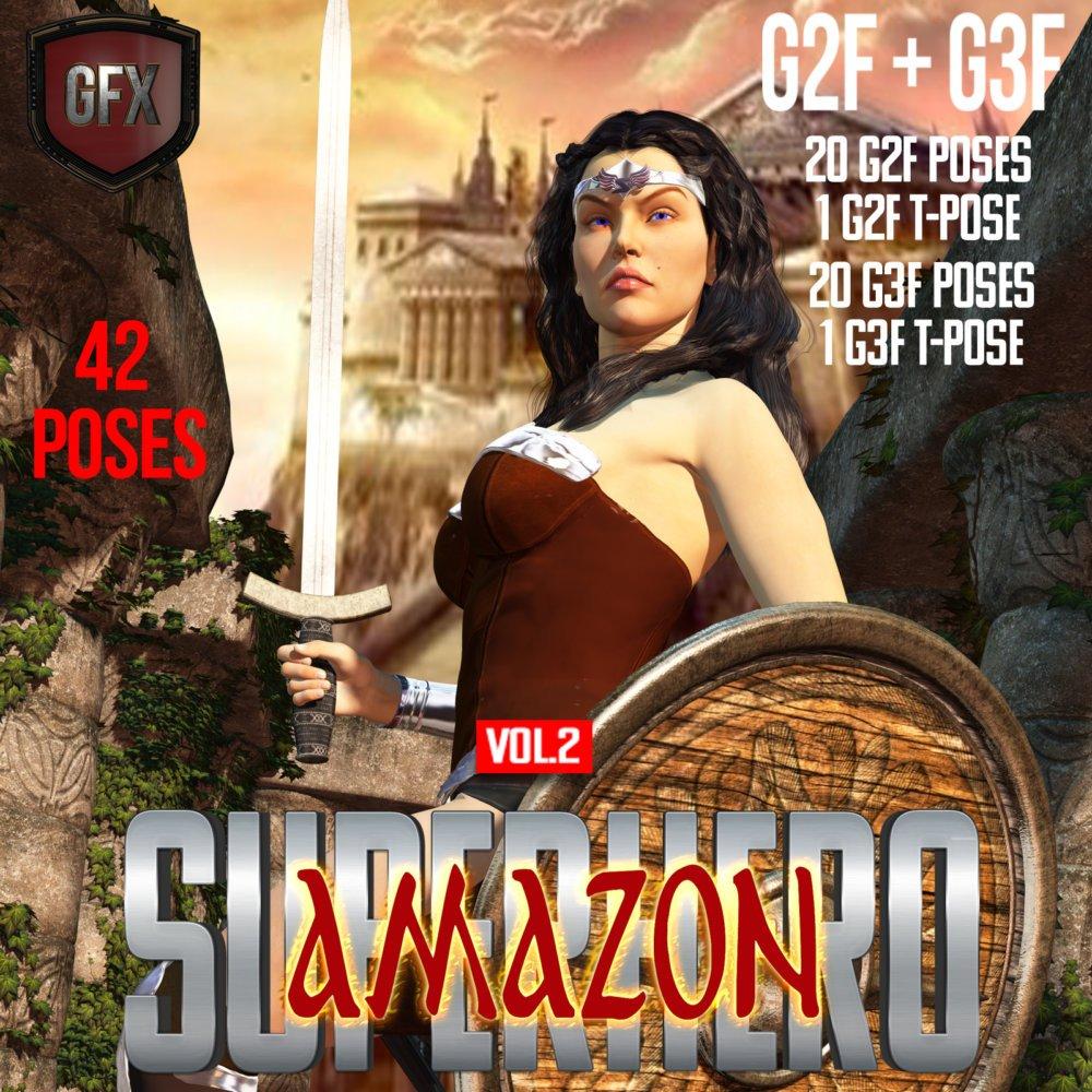 SuperHero Amazon for G2F & G3F Volume 2