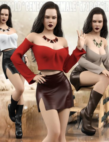 Hot N Cold Clothing Set for Genesis 8 Females for iRay and dForce