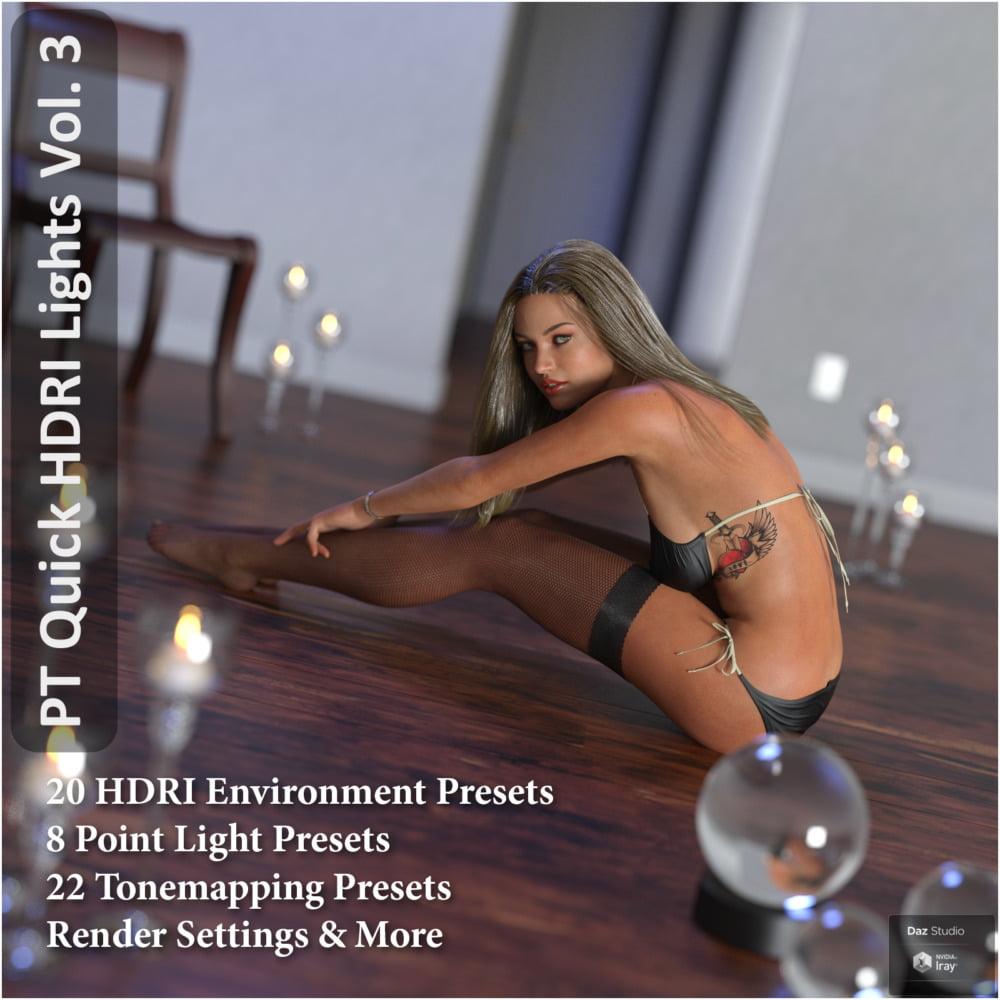 Paper Tiger's Quick HDRI Lighting Vol. 3