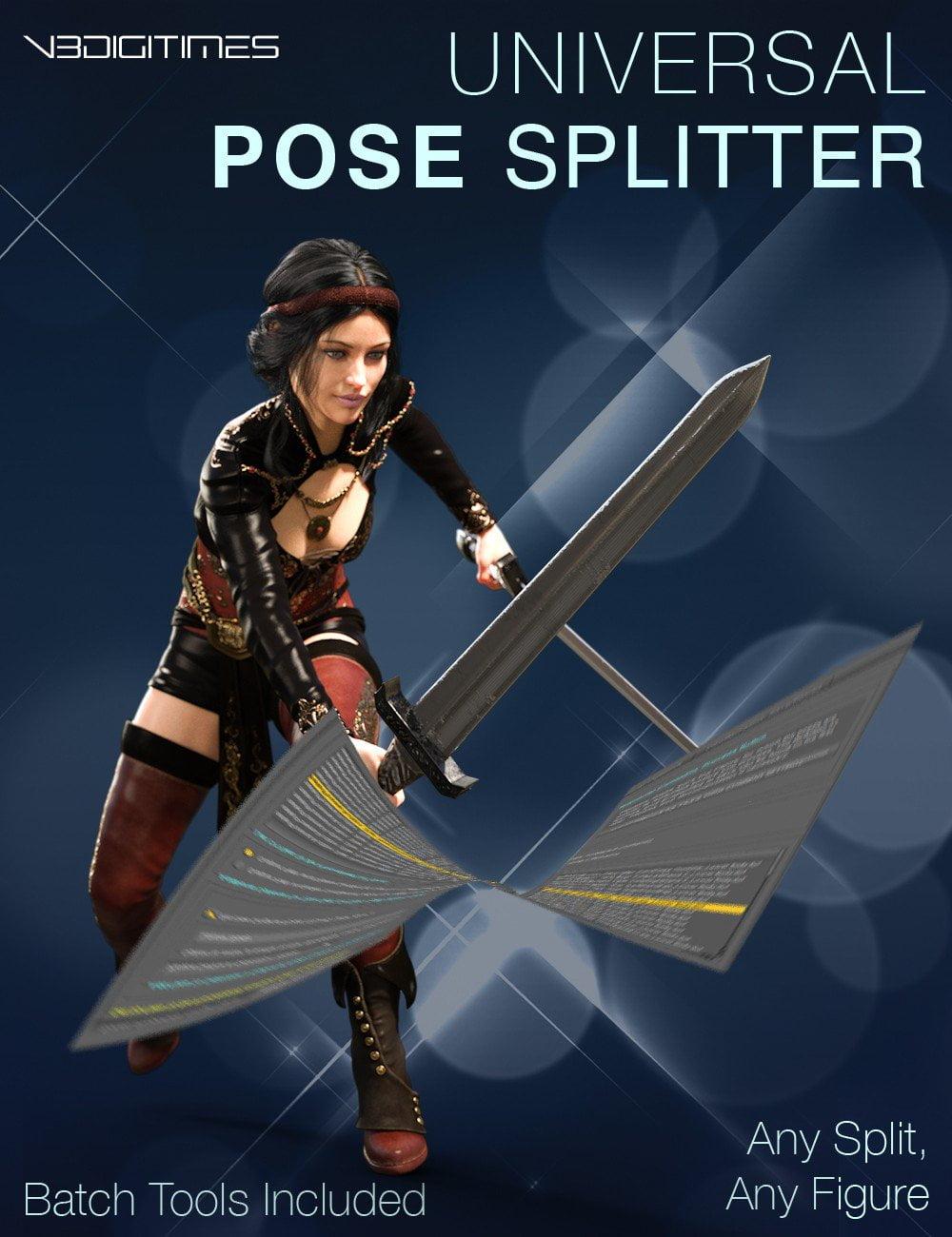 Universal Pose Splitter