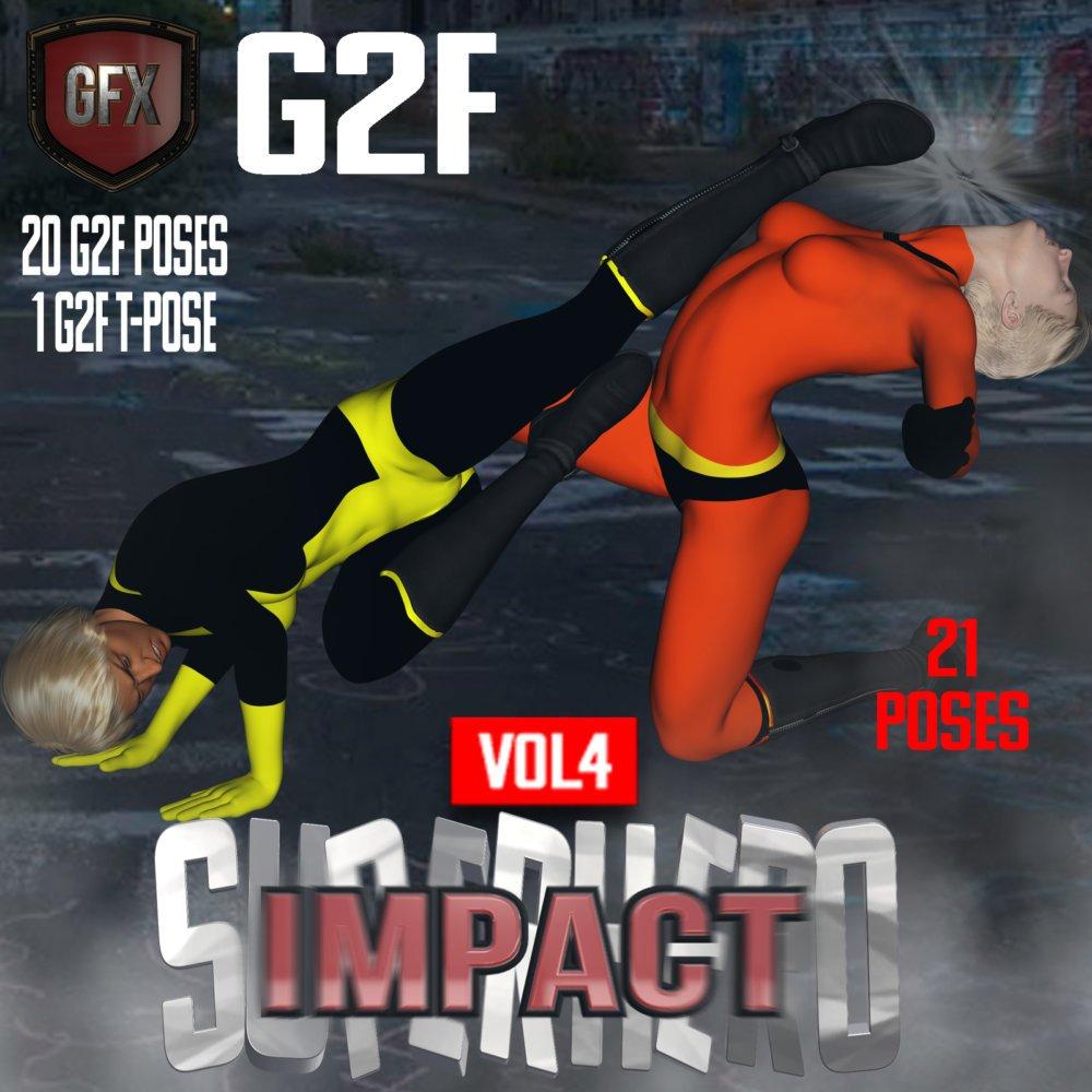 SuperHero Impact for G2F Volume 4