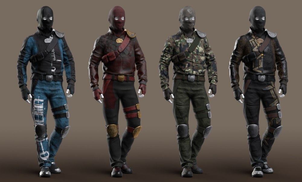 Raider Outfit Textures