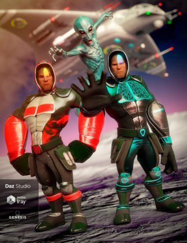 Sci-fi Ninja Outfit Textures