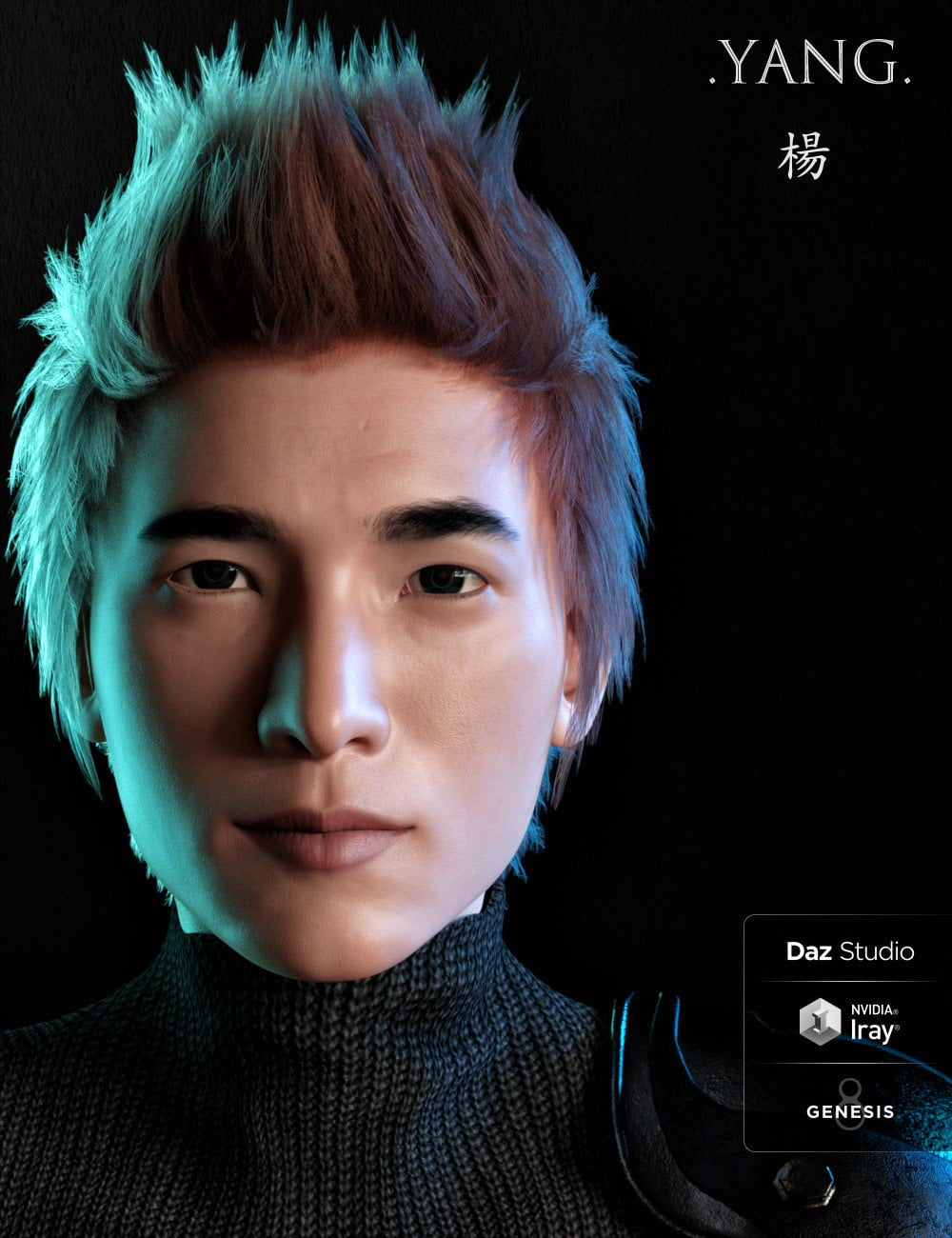 Yang and Expressions for Genesis 8 Male