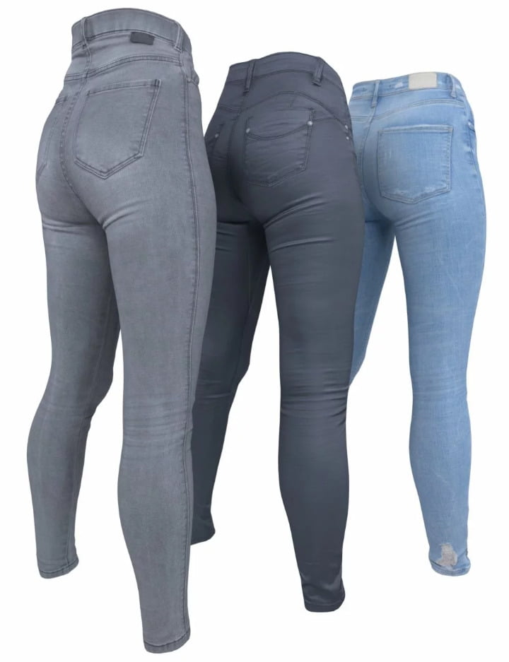 3 Pant Collection for Genesis 8 Female(s)